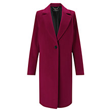 Buy Four Season Cocoon Wool Blend Coat Online at johnlewis.com