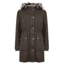 Buy Mint Velvet Zip Back Parka Online at johnlewis.com