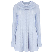 Buy Phase Eight Coral Cable Swing Jumper, Soft Blue Online at johnlewis.com