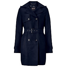 Buy Phase Eight Alanna Hooded Trench Coat, Navy Online at johnlewis.com