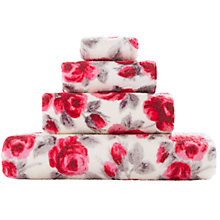 Buy Cath Kidston Painted Rose Towels Online at johnlewis.com