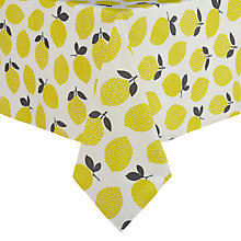 Buy John Lewis Lemons Wipe Clean Tablecloth Online at johnlewis.com
