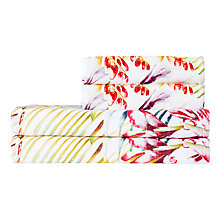 Buy Harlequin Paradise Towels, Flamingo Online at johnlewis.com
