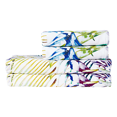 Harlequin Paradise Towels, Zest