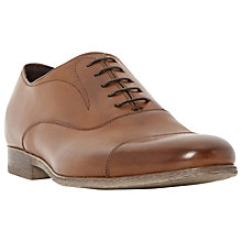Buy Bertie Rayne Leather Oxford Shoes, Tan Online at johnlewis.com