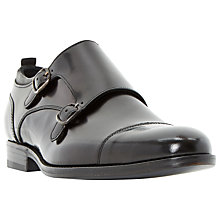 Buy Dune Ravenclaw Toecap Detail Double Buckle Monk Shoes Online at johnlewis.com
