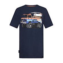 Buy Animal Boys' Surfari T-Shirt, Indigo Online at johnlewis.com