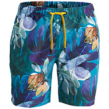 Buy Bjorn Borg Mirage Loose Swim Shorts, Blue Online at johnlewis.com