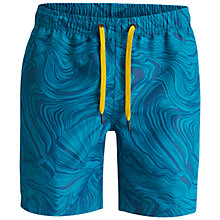 Buy Bjorn Borg Sandstone Loose Swim Shorts, Blue Online at johnlewis.com