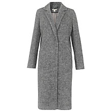 Buy Whistles Herringbone Overcoat, Grey Marl Online at johnlewis.com
