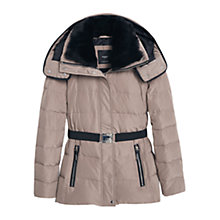 Buy Mango Detachable Hood Quilt Coat Online at johnlewis.com