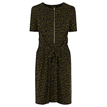 Buy Warehouse Animal Print Dress, Multi Online at johnlewis.com