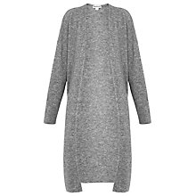 Buy Whistles All Needle Knit Cardigan, Grey Online at johnlewis.com