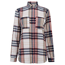 Buy Warehouse Brushed Cotton Checked Shirt, Multi Online at johnlewis.com