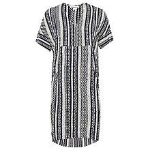 Buy Whistles Ikat Print Dress, Multi Online at johnlewis.com