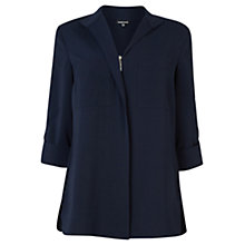 Buy Warehouse Zip Front Shirt Online at johnlewis.com