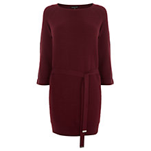 Buy Warehouse Knitted Belted Tunic Online at johnlewis.com
