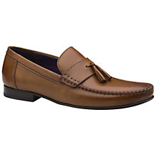 Buy Ted Baker Simbaa Tassel Leather Loafers Online at johnlewis.com