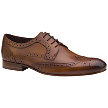 Buy Ted Baker Gryene Oxford Leather Brogues, Tan Online at johnlewis.com