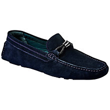 Buy Ted Baker Carlsun 2 Slip-On Suede Loafers Online at johnlewis.com