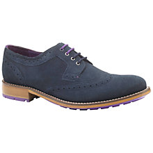 Buy Ted Baker Casuede Derby Lace-Up Brogues Online at johnlewis.com