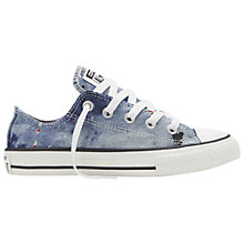 Buy Converse Children's Chuck Taylor All Star Low Rise Trainers, Grey Online at johnlewis.com