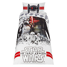 Buy Star Wars The Force Awakens Duvet Cover and Pillowcase Set Online at johnlewis.com