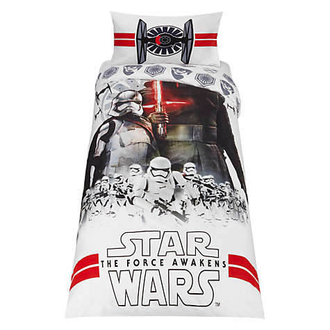 Star Wars The Force Awakens Duvet Cover and Pillowcase Set