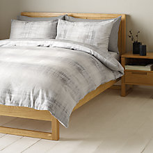Buy John Lewis Striation Duvet Cover and Pillowcase Set Online at johnlewis.com