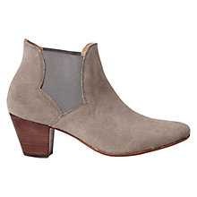 Buy H by Hudson Claudette Cone Heeled Ankle Boots Online at johnlewis.com