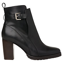 Buy Whistles Elgin Block Heeled Ankle Boots Online at johnlewis.com