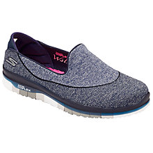 Buy Sketchers Go Flex Slip On Trainers Online at johnlewis.com