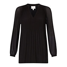 Buy East Micro Pleat Blouse Online at johnlewis.com
