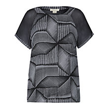 Buy Celuu Beatrix Diamond Top, Black Online at johnlewis.com
