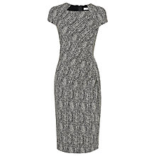 Buy L.K. Bennett Malory Fitted Dress, Black/Cream Online at johnlewis.com