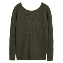 Buy Mango Textured Sweater Online at johnlewis.com