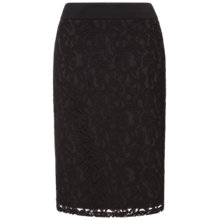 Buy Celuu Sonia Lace Skirt, Black Online at johnlewis.com