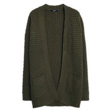 Buy Mango Side Pocket Textured Cardigan Online at johnlewis.com