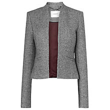 Buy L.K. Bennett Quentin Jacket, Black/Cream Online at johnlewis.com