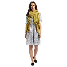 Buy East Kashmir Pintuck Dress, Calico Online at johnlewis.com