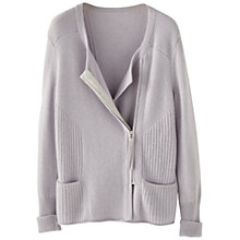 Buy Wrap London Emilia Cashmere Biker Cardigan Online at johnlewis.com