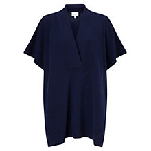 Buy East Oversized Wrap Jumper, Ink Online at johnlewis.com