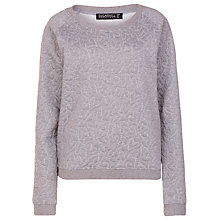 Buy Sugarhill Boutique Betty Heart Embossed Sweatshirt, Grey Marl Online at johnlewis.com