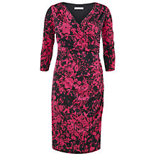 Buy Gina Bacconi Jersey Floral Wrap Dress Online at johnlewis.com