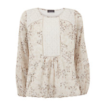 Buy Mint Velvet Akira Print Blouse, Multi Online at johnlewis.com