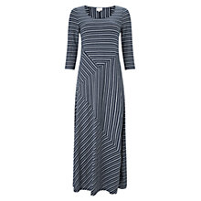 Buy East Stripe Jersey Maxi Dress, Ink Online at johnlewis.com