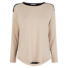 Buy Oasis Colour Block Top, Multi Online at johnlewis.com