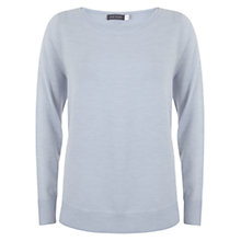 Buy Mint Velvet Wool Knit Jumper, Blue Online at johnlewis.com