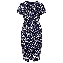 Buy Sugarhill Boutique Elspeth Leopard Print Dress, Navy Online at johnlewis.com