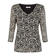 Buy Kaliko Contrast Lace Jersey Top Online at johnlewis.com